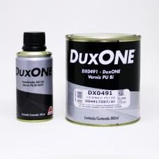 VERNIZ DUXONE PU BI DX0491 - 8X1 - C/ CATALISADOR 0.9L -AXALTA *C