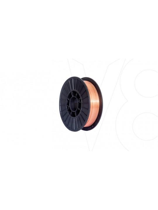 ARAME P/ SOLDA MIG V8 -5KG - 0,8MM - P/ USO C/ GAS MAQ FLEX -7795