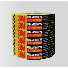 FITA CREPE 3M AMARELA -16MM X 50MT- AUTOMOTIVA - ALTA PERFORMANCE